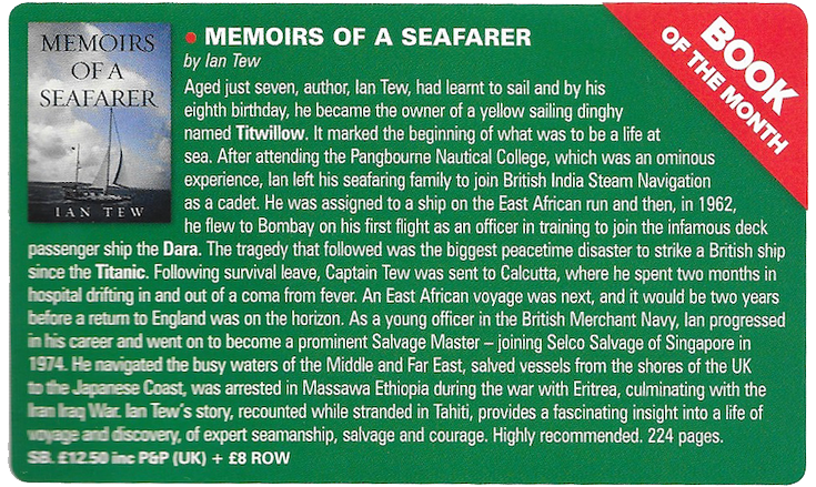 Sea Breezes Review August 2019  Book of the Month